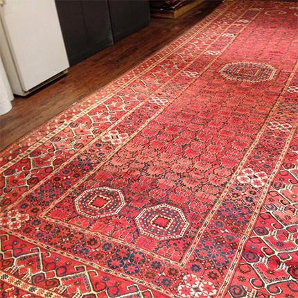Antique Beshir Long Carpet