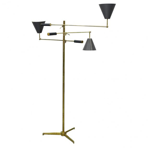 Arredoluce Triennale Floor Lamp Totally Restored Signed