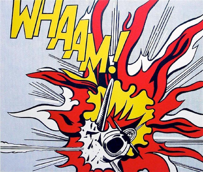 roy lichtenstein whaam Whaam the art and life of roy lichtenstein oct 1, 2008 by susan goldman rubin hardcover $1850 $ 18 50 $2195 prime free shipping on eligible orders.