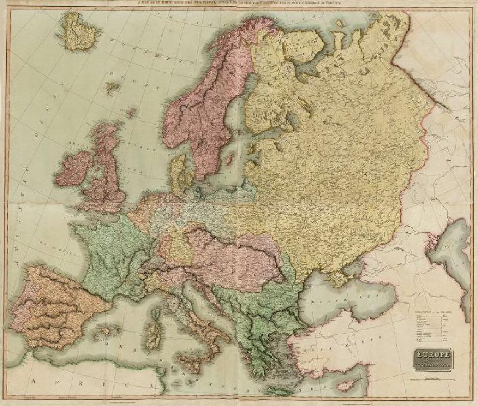 Chart your grand tour of europe at jasper52 map sale nov 21 collectors can travel back in time to chart such trips in a jasper52 online auction of antique maps and atlases of europe on tuesday nov 21 gumiabroncs Choice Image